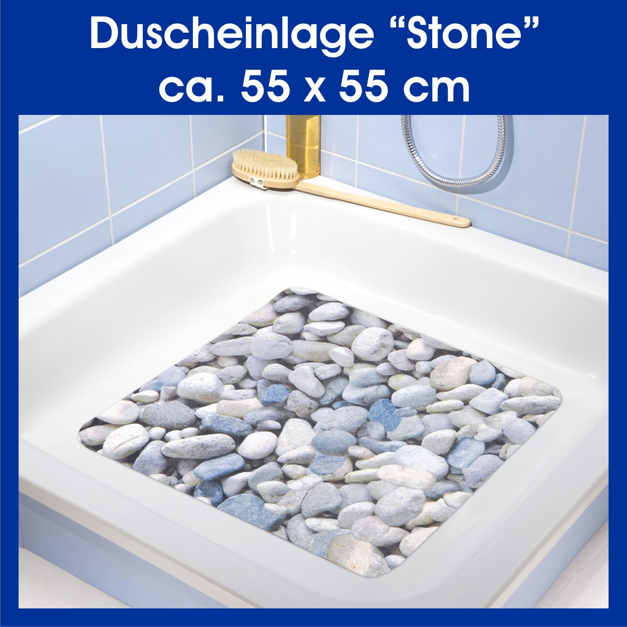 duscheinlage stone dusche matte einlage wanneneinlage antirutschmatte badewanne ebay. Black Bedroom Furniture Sets. Home Design Ideas