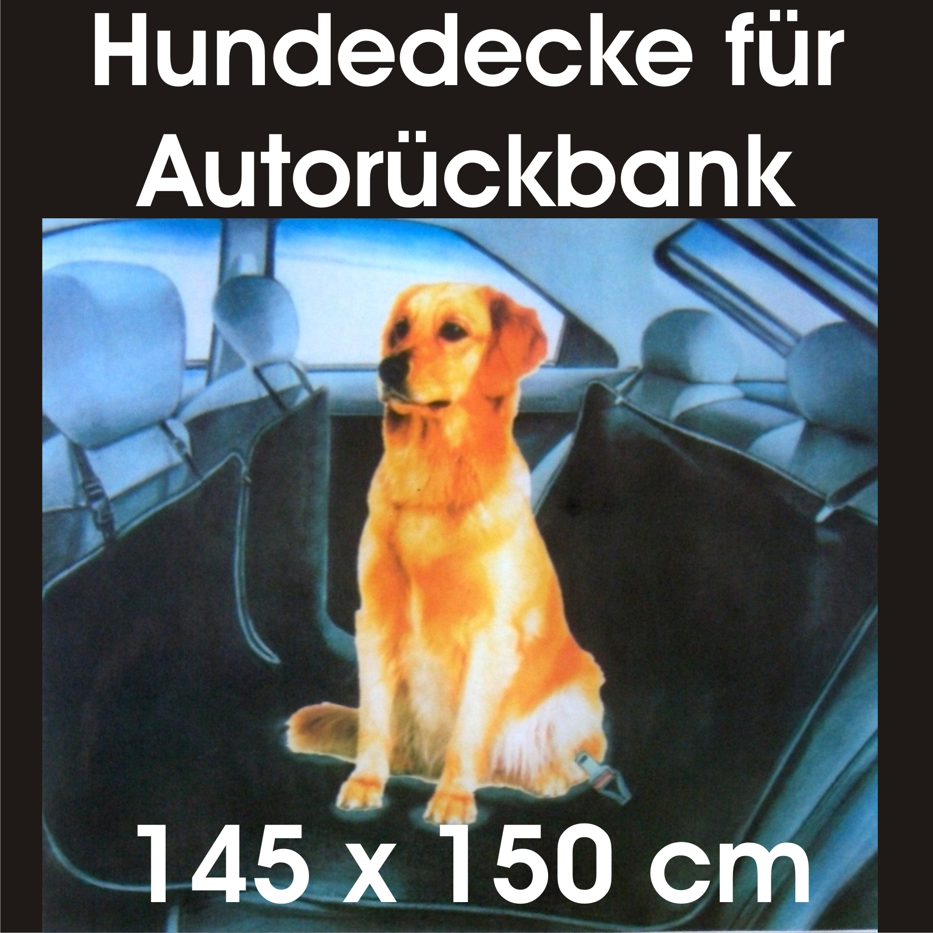auto hunde transport kfz schutzdecke schondecke decke r cksitz r cksitzbank neu ebay. Black Bedroom Furniture Sets. Home Design Ideas